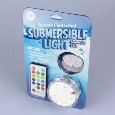 """Remote Controlled Submersible Light Lighted Under WaterPool LED Decoration 2.5"""""""