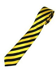Striped design ties - good quality, fun and colourful
