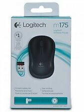Logitech M175 Black Wireless Mouse With micro USB receiver Optical 910-002777