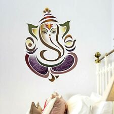 Indian Hindu Elephant God Ganesh UK Wall Sticker