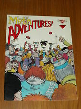 MYTH ADVENTURES #4 DECEMBER 1984 WARP GRAPHICS US MAGAZINE~