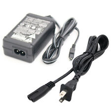 AC Adapter & Power Cord for SONY DCR-SR47 SR47E SR47/L SR47/R Handycam Camcorder