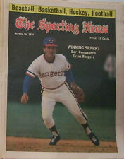 BERT CAMPANERIS RANGERS 1977 SPORTING NEWS NO LABEL