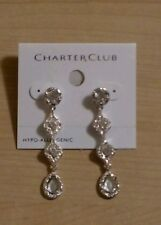 Wedding Jewelry Bridal or Bridesmaid Earrings Charter Club from Macy's