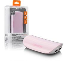 Canyon 6000mAh doppia USB Uscita Caricabatterie CNA-C06060P Rosa