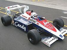 1/10 1984 F1 Ayrton Senna Toleman TG184 RC Car Body + Decal for Tamiya F103 F104