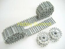 1/16 TRANSPORT TRACKS re  German King Tiger Tank  w/ 18-T Sprockets Tamiya 56018