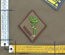 """Ricamata / Embroidered Patch Usaf PJ """"Pedro"""" with VELCRO® brand hook"""