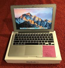 "Apple MacBook Air A1370 11.6""MC969LL/A 1.6GHZ i5,4GB Ram,128GB SSD"