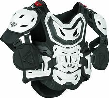 Fly Racing 5.5 HD pro Leatt chest protector white