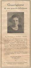 W4568 PROTON - Bilancioni Rosa - Fano - Pubblicità del 1931 - Vintage advert
