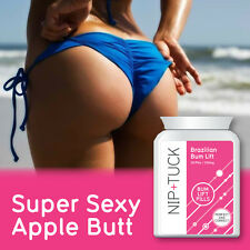 NIP & TUCK BRAZILIAN BUM LIFT PILLS YOUTHFUL LIFTER FIRMER TONED TIGHT BUTTOCKS
