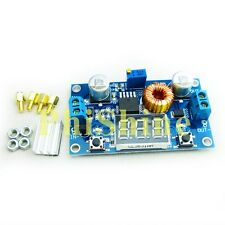 5A 75W DC DC Step down Power Module Verstellbar LED Voltmeter mit Schrauben