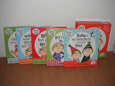 Charlie & Lola  Lot of 5 Books by Lauren Child New  - Hardcover