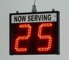 "Token Number Display/Take a number system/Lap Counter- 2 digit 6"" high numbers"