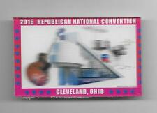 2016 Republican National Convention Cleveland Ohio hologram flasher pinback pin