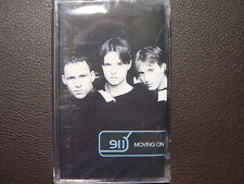 911 - Moving On AUDIO CASSETTE TAPE New, Sealed, BG edition, Rare, Out of Print