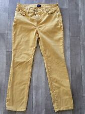 Not Your Daughers Jeans Skinny Size 8 Petite Yellow Ankle Jeans Stretch P10