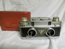 Vintage 1950s Bell & Howell TDC Stereo Vivid 35mm Realist Format 3D Camera w/Ftr