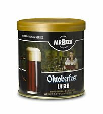 Mr. Beer Oktoberfest Lager Home Brewing Beer Refill Kit, New, Free Shipping