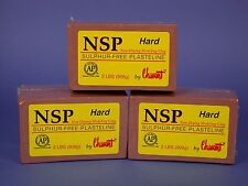 Chavant NSP Non-Drying Modeling Clay-3 pack - Hard-Brown-sculpting modeling