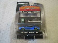 GreenLight Muscle Car Garage Hobby Collection 1973 AMC Javelin AMX Green Machine