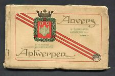Dated 1944, 10 Card Booklet from Antwerp