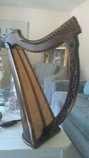 Harp- A - Biblical 22 string Harrari custom carvings