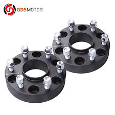 """2pc 1.5"""" Chevy Hubcentric Wheel Spacers 6x5.5 for Suburban Silverado 1500 Tahoe"""