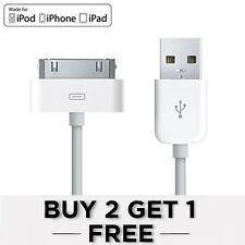 D'origine Apple Sync & Chargeur Câble USB For iPhone 4 4S 3G 3GS iPod iPad 1 2
