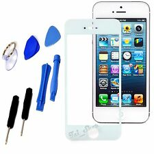 White Replacement LCD Front Screen Glass Lens+Free Tools For iPhone 6 Plus 5.5""