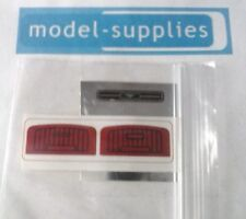 Dinky 161 Ford Mustang reproduction grille panel & door insert sticker set