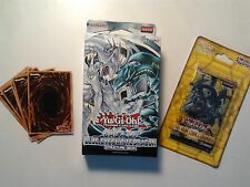 Yugioh Saga of Blue-Eyes White Dragon Structure Deck + BOOSTER PACK + 20 CARDS