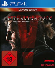 Sony Playstation 4 PS4 Spiel Metal Gear Solid V The Phantom Pain Day One Edition
