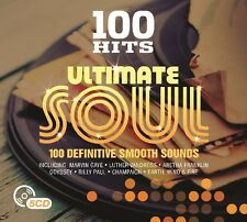 100 HITS-ULTIMATE SOUL New Digipack Edition 5 CD NEU BOX-SET