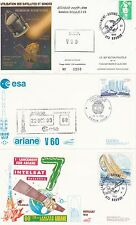 1993 - Launch ARIANE V60 - 3  space coverr from Paris/Kourou