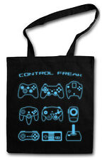 CONTROL FREAK HIPSTER BAG - Stofftasche Stoffbeutel - Video Game Pad Controller