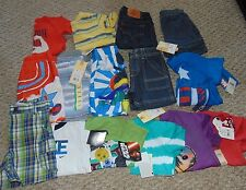 Lot Boy Clothes size 18 months Summer and Spring Shirts and Shorts New w/ Tags