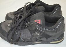 Women's DC Black Laced Skate Sneakers Athletic Tennis Shoes Size 8