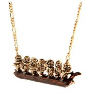 """N205 BETSEY JOHNSON """"SNOW WHITE Medieval Collection The Seven Dwarfs Necklace AU"""