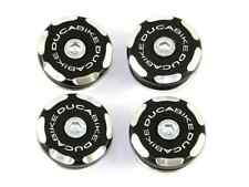 Tappi Telaio Monster Nero a Frame Plugs Black Ducati Monster 400-600-750-900-S4
