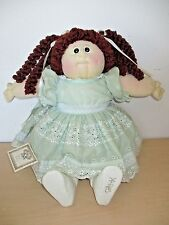 "1985 CABBAGE PATCH KIDS 22"" SOFT SCULPTURE DOLL *CARLA JACKY*."