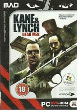 KANE & LYNCH DEAD MEN NUEVO PRECINTADO PC