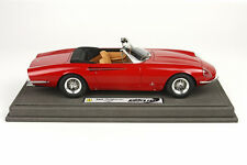 BBR 1966 Ferrari 365 California s/n 09127 Red LE 200pcs 1:18 1814A Last Pcs!!