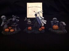 Hawthorne Village Nightmare Before Christmas Tomb & Gloom Accessory Figures Zero