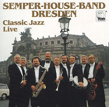 SEMPER-HOUSE-BAND DRESDEN - CD - CLASSIC JAZZ LIVE