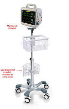 Rolling Mobile stand for Mindray MEC-1000/1200 monitor (big wheel)
