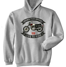 BSA FIREBIRD 650 - GREY HOODIE - ALL SIZES IN STOCK
