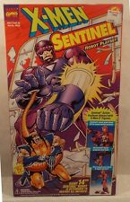 """X-Men 14"""" Sentinel Robot Playset With Firing Projectile Arm Claw ToyBiiz Sealed!"""