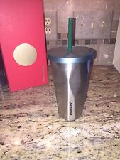 Starbucks Stainless Steel Faceted 16 Ounce Tumbler! Hard To Find!!